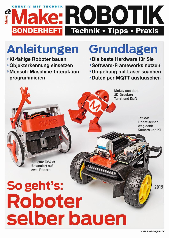 Make Sonderheft 2019 - Robotik