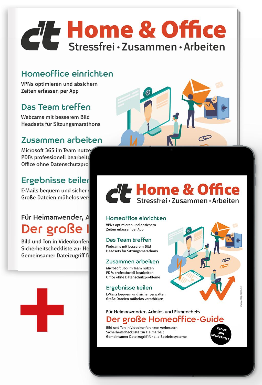Bundle c't Home & Office 2021 (Heft + PDF)