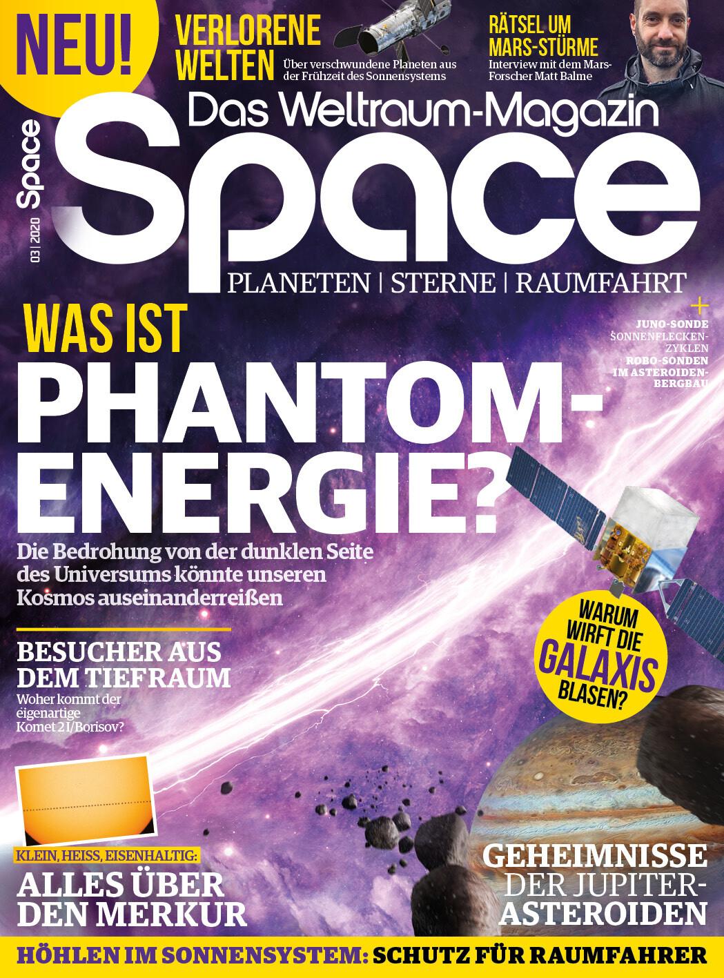 Space Weltraum Magazin 03/2020