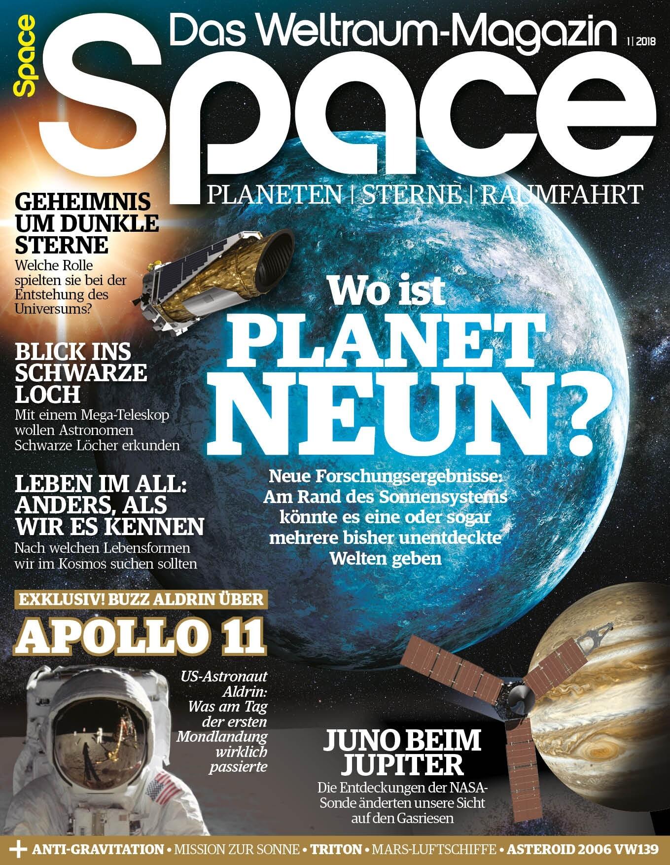 Space Weltraum Magazin 1/2018