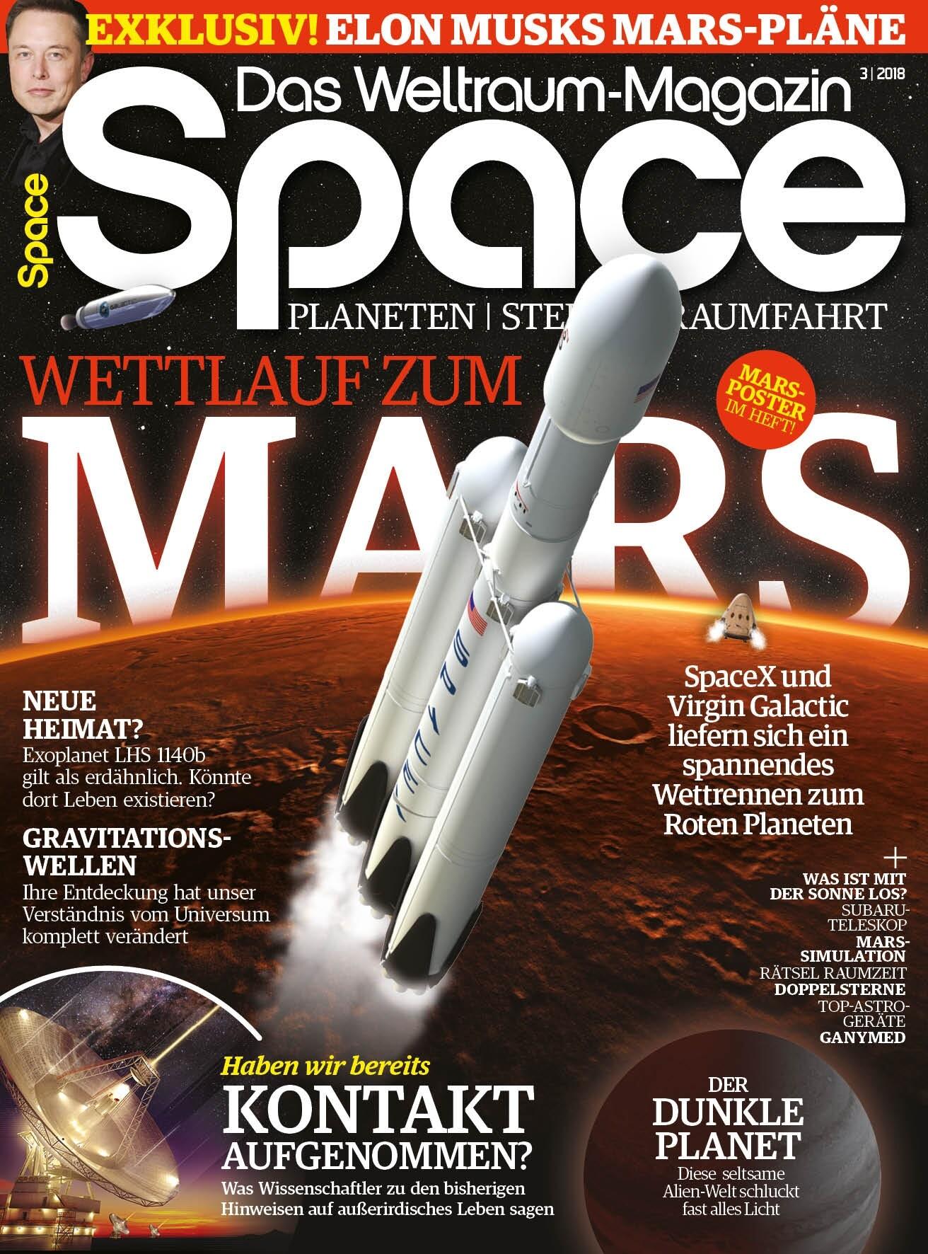 Space Weltraum Magazin 3/2018