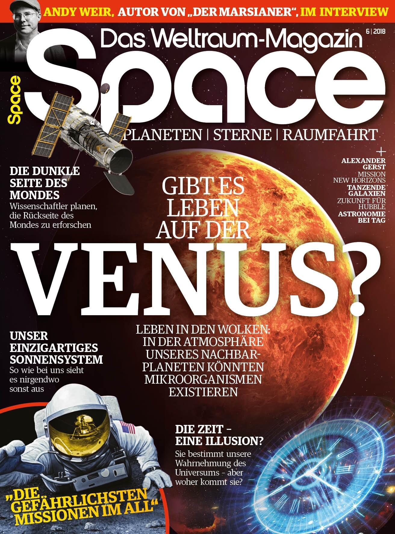 Space Weltraum Magazin 6/2018