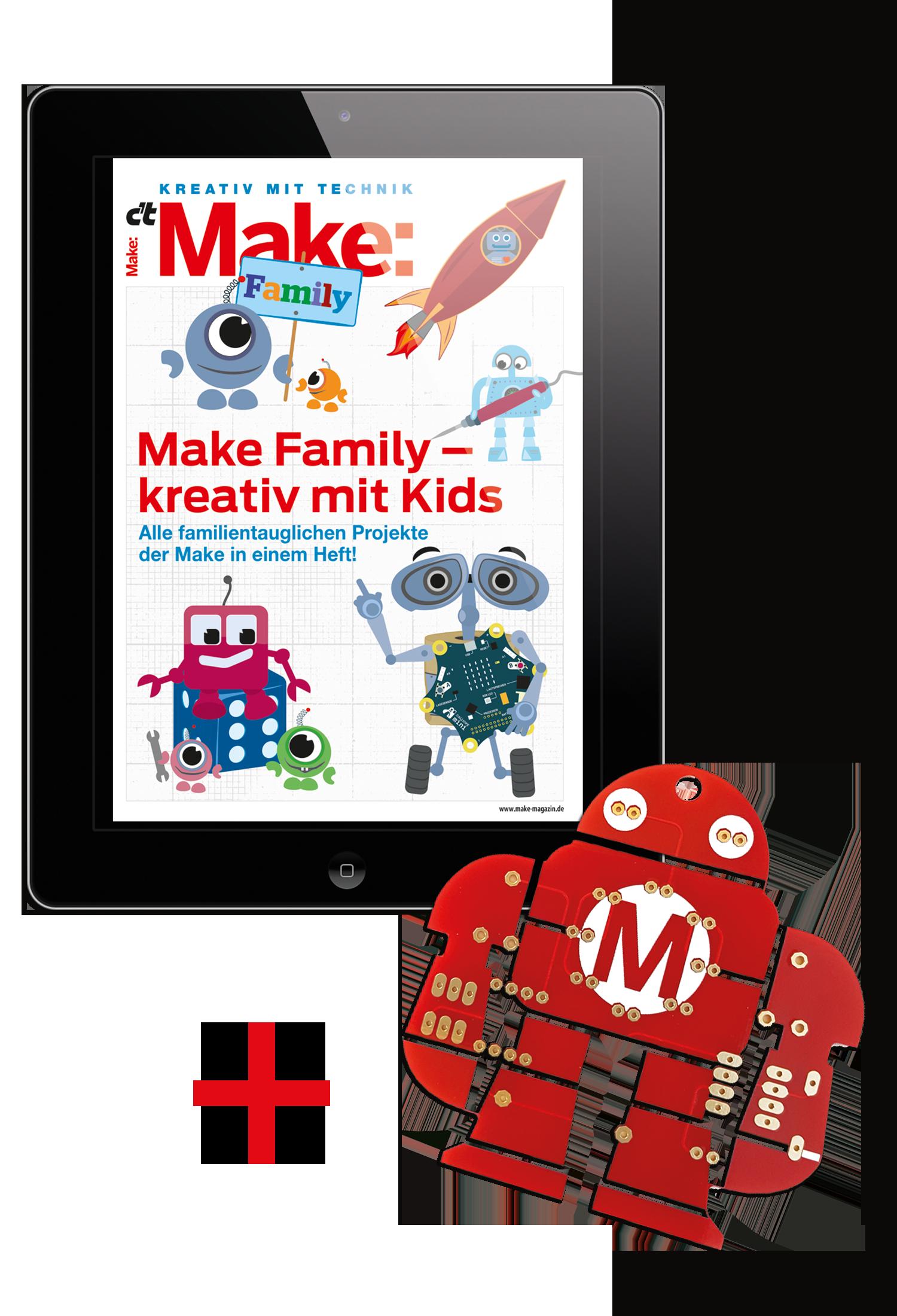 Bundle: Make Family + Makey Lötbausatz