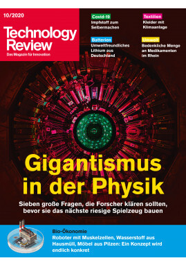 Technology Review 10/2020