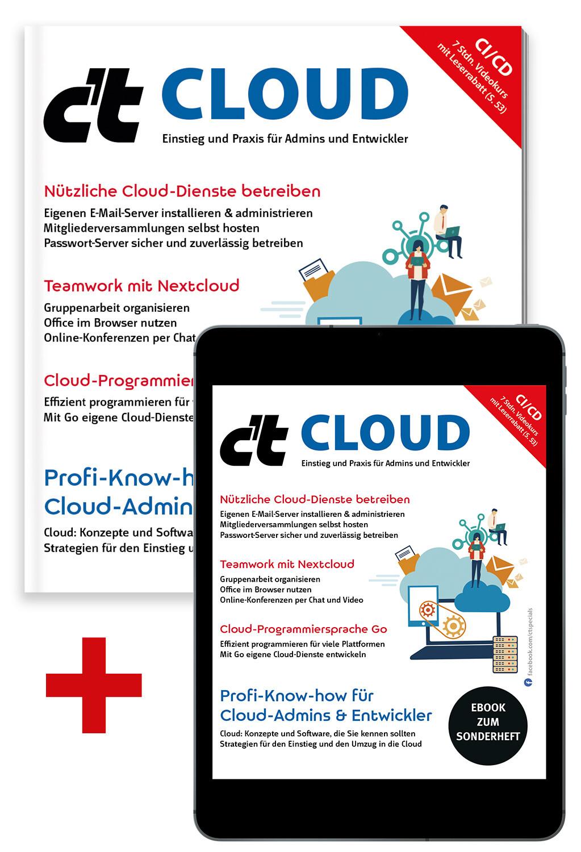 Bundle c't Cloud 2021 (Heft + PDF)