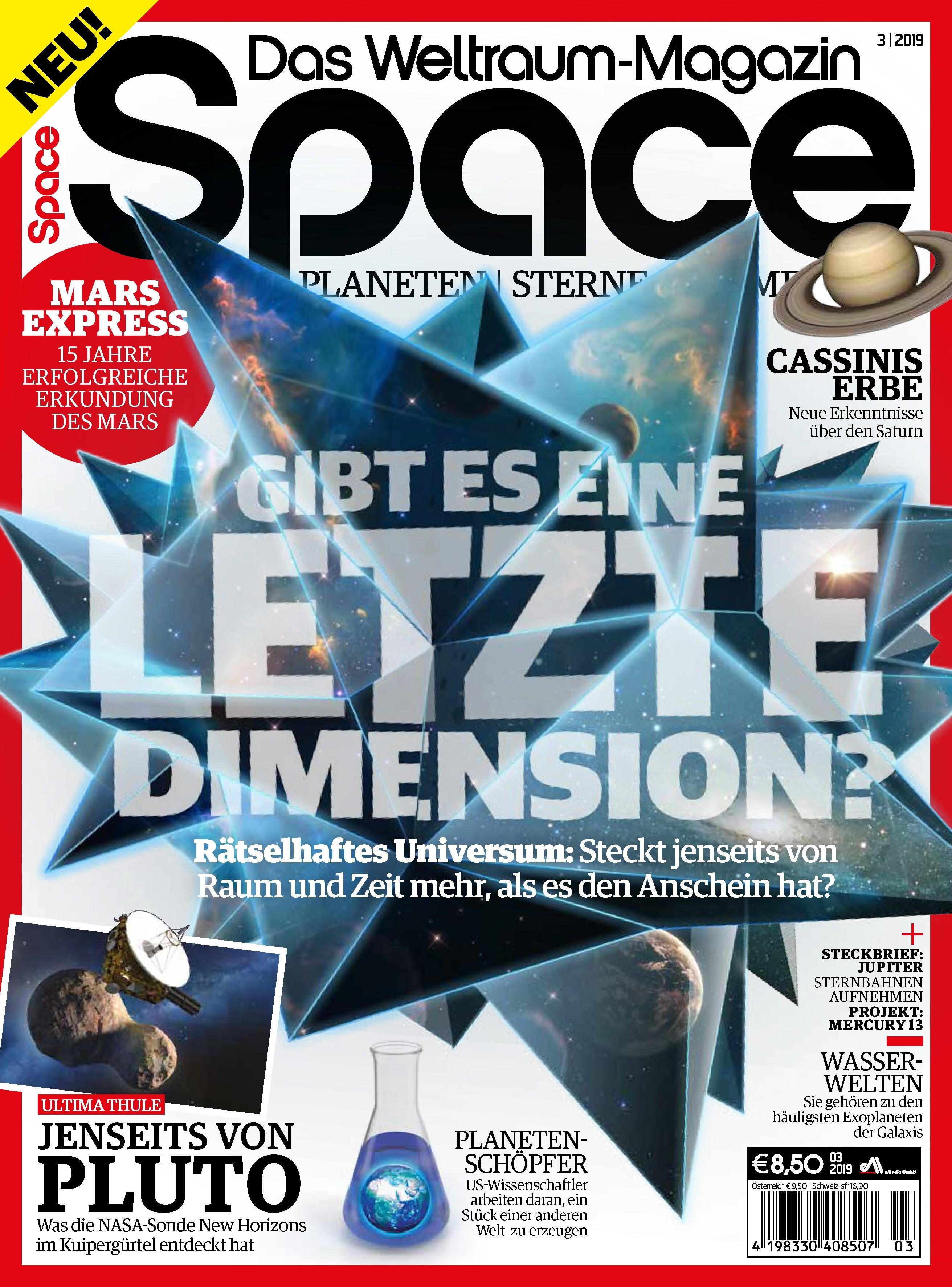 Space Weltraum Magazin 03/2019