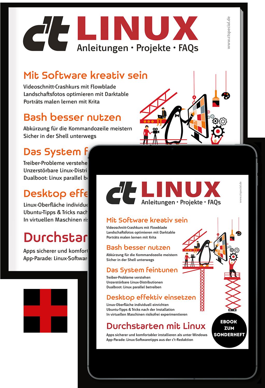 Bundle c't Linux 2021 (Heft + PDF)