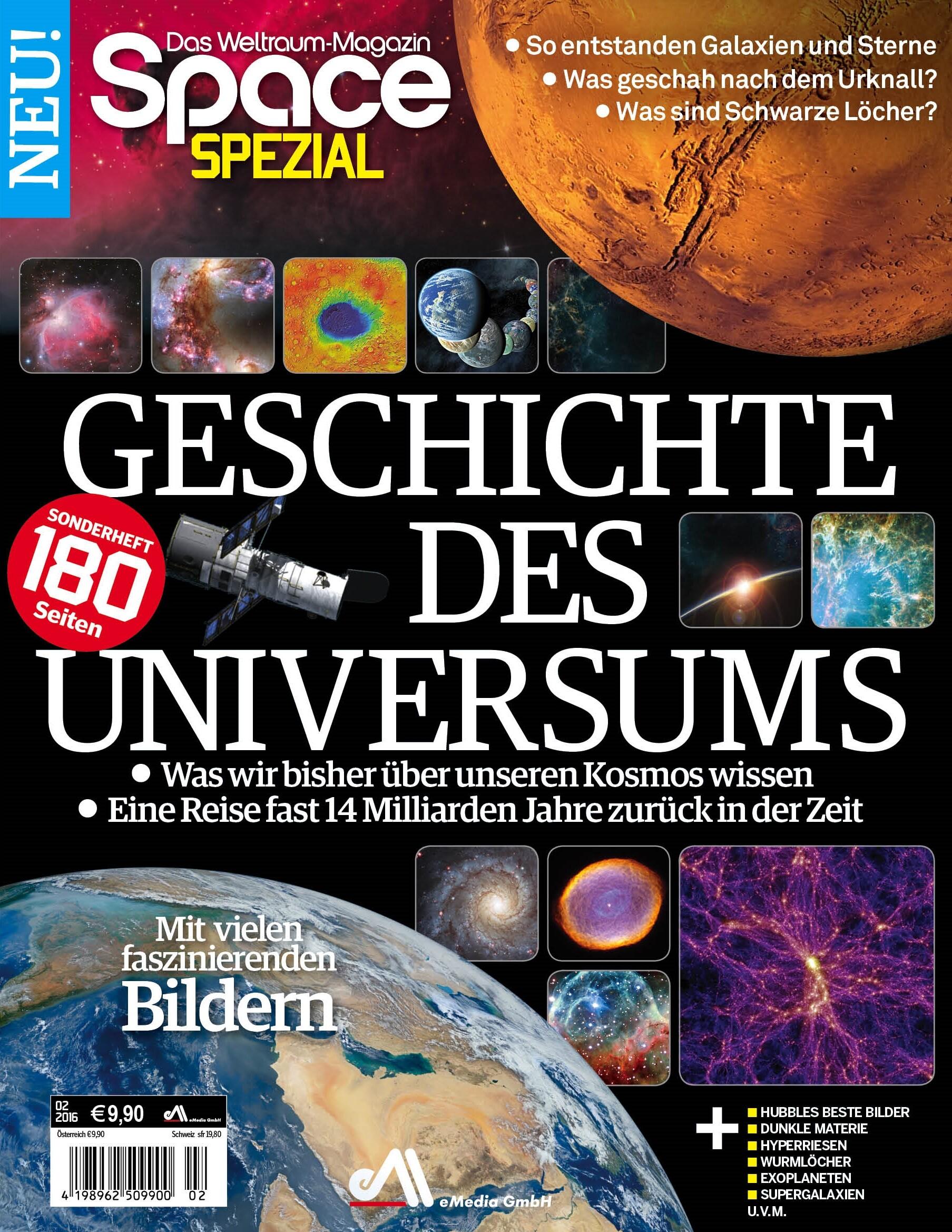 Space Spezial Geschichte des Universums 2/2016