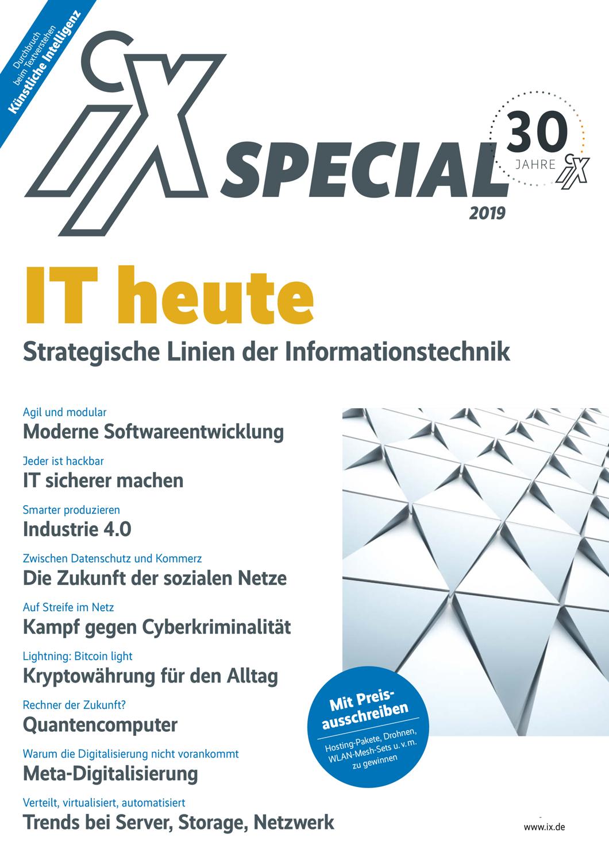 iX 13/2019 spezial
