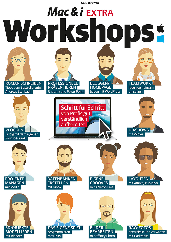 Mac & i EXTRA Workshops