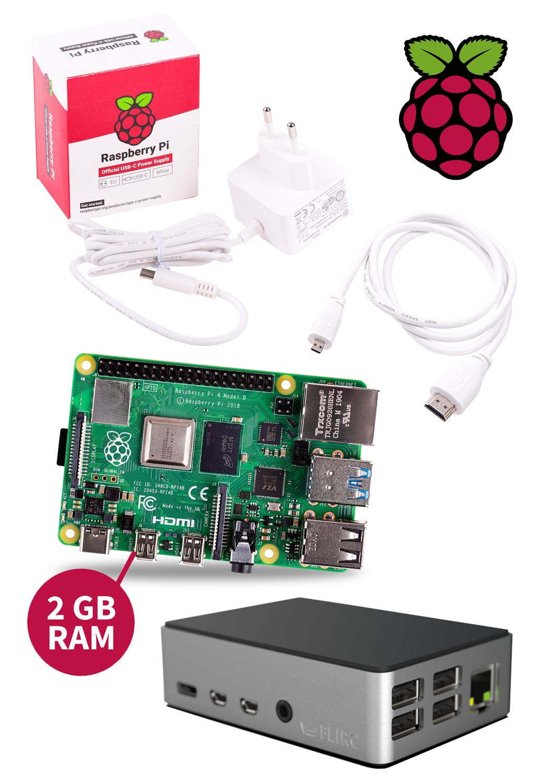 FLIRC-Bundle mit Raspberry Pi 4 Model B 2GB