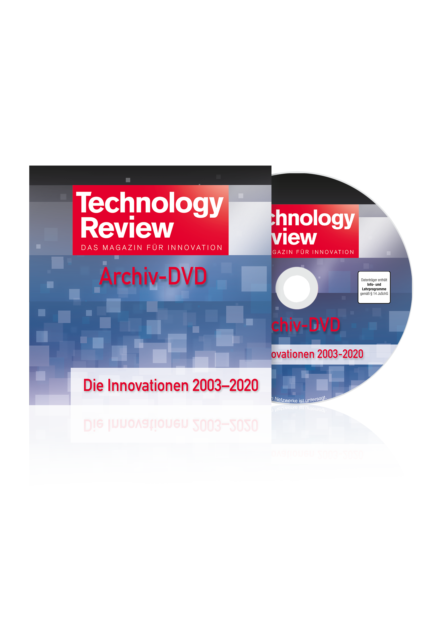 Technology Review DVD 2003-2020