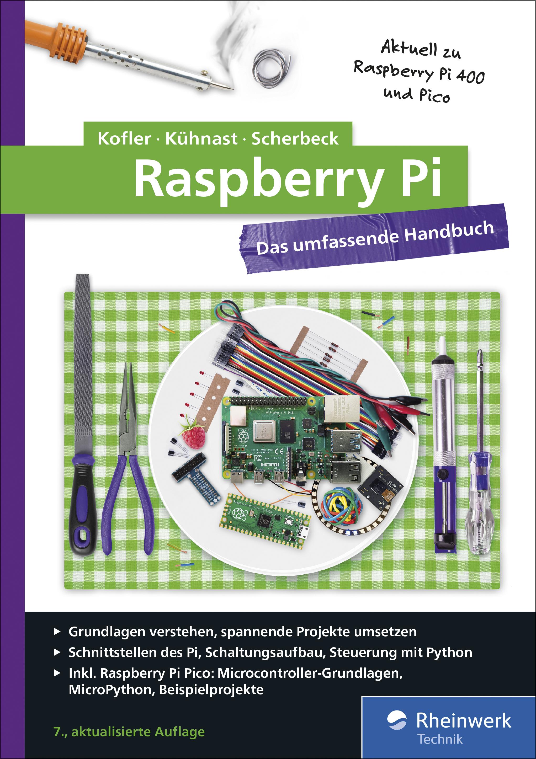 Raspberry Pi - Das umfassende Handbuch (7. Auflg.)
