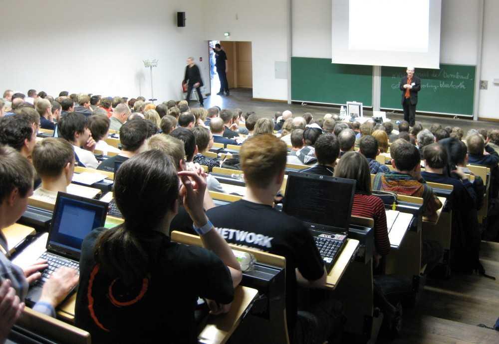 Großes Interesse bei den Vorträgen