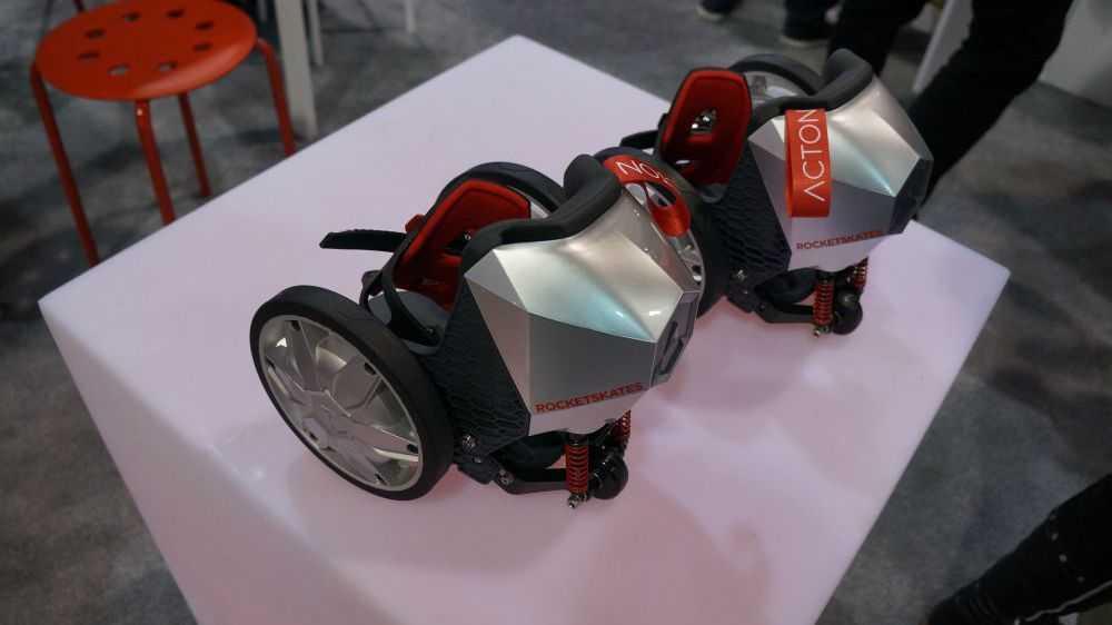 """CES: Elektro-Rollschuhe mit App-Anbindung für """"tragbare"""" Mobilität"""