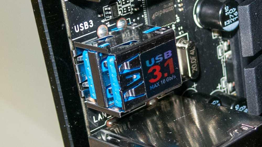 AMD-Mainboards mit USB 3.1