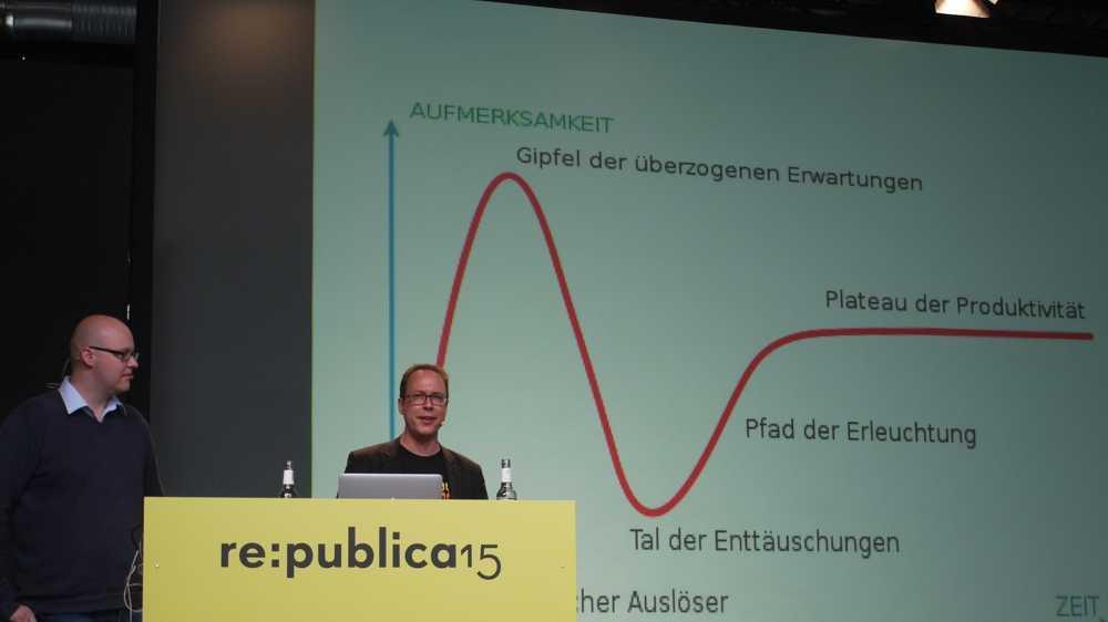 re:publica 15:  Die Netzgemeinde in der Mitte der Gesellschaft