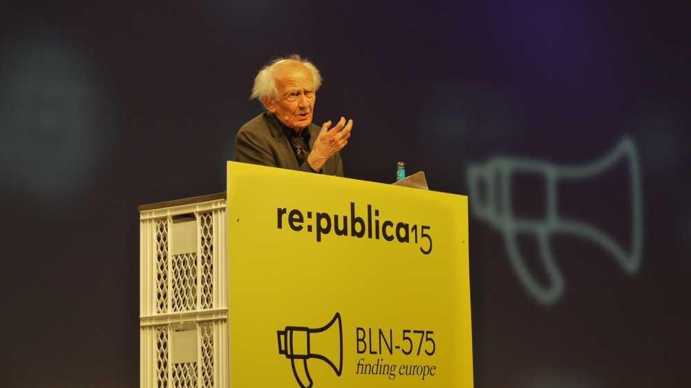 """re:publica 15: Vom Zeitalter der """"liquiden Überwachung"""""""