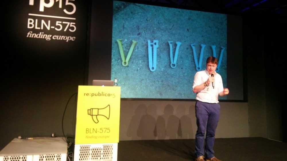 re:publica 15: 3D-Drucker für Krisengebiete
