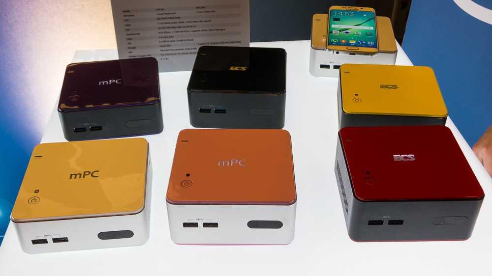 Computex: Lüfterlose Mini-PCs mit Core-M-Prozessor