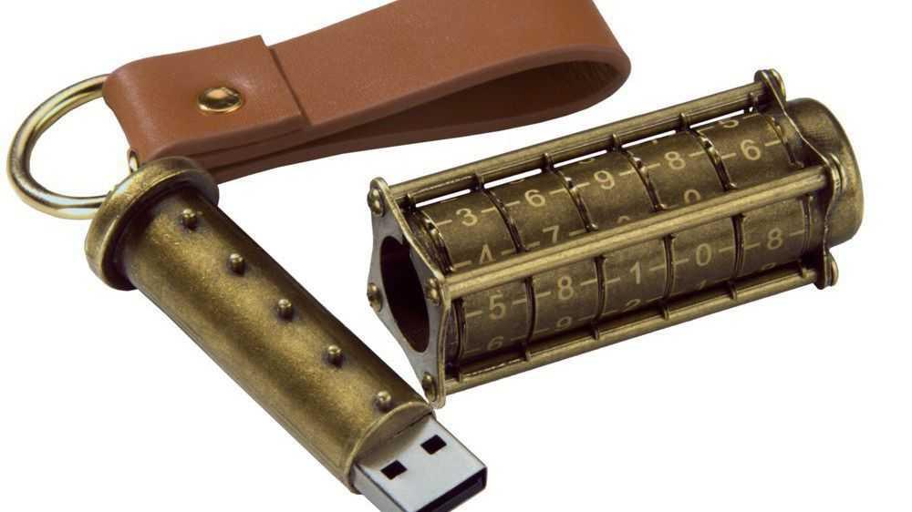 Abschließbarer USB-Stick