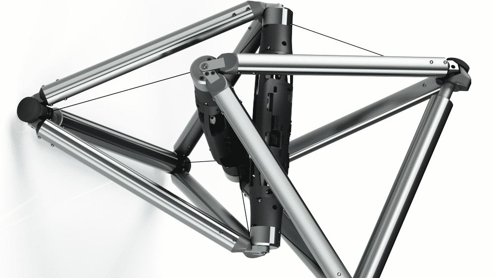 DucTT: Röhren-Inspektions-Roboter aus zwei Tetraedern