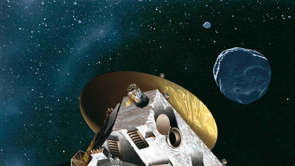 NASA-Sonde New Horizons auf dem Weg in den Kuiper-Gürtel
