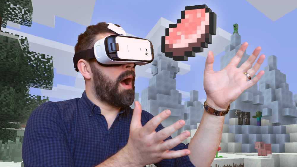 Virtual Reality: Minecraft läuft nun auf Samsungs GearVR