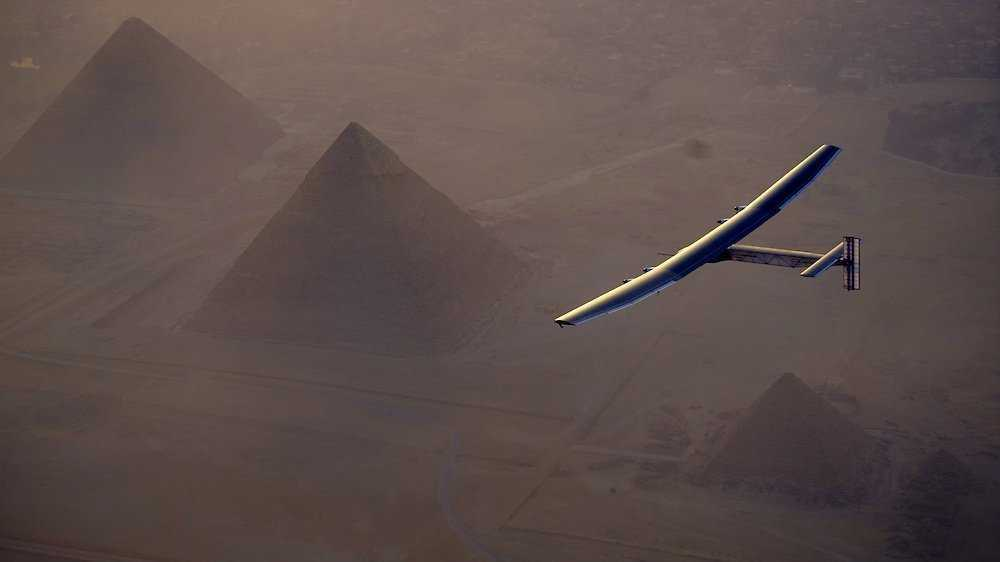 Solar Impulse 2: Sonnenflieger erreicht vorletztes Etappenziel Kairo