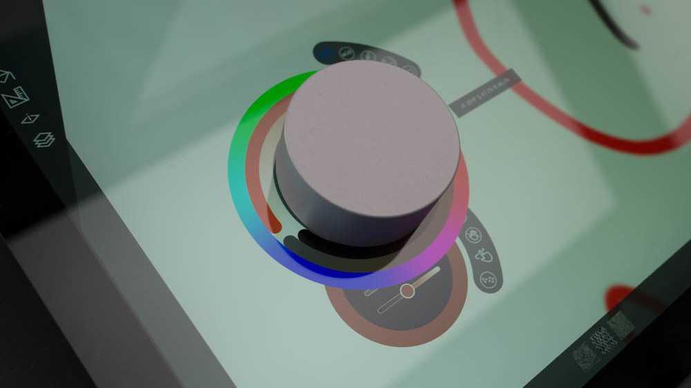Angefasst: Microsofts Eingabegerät Surface Dial