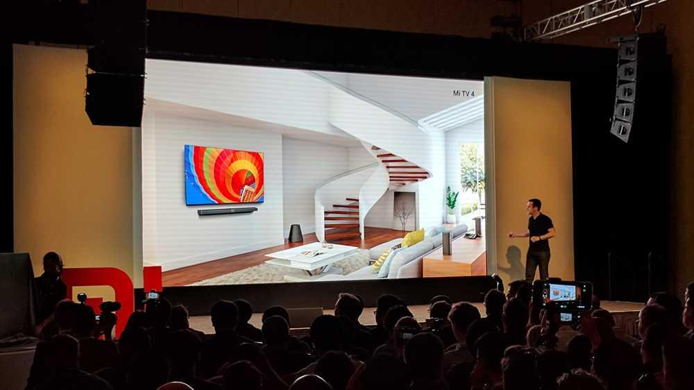 Modulares Smart-TV: Xiaomi gibt sein CES-Debüt mit dem Mi TV 4