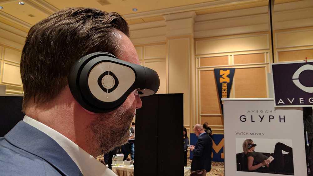Videobrille Avegant Glyph im Test: Kopfhörer zum Kucken