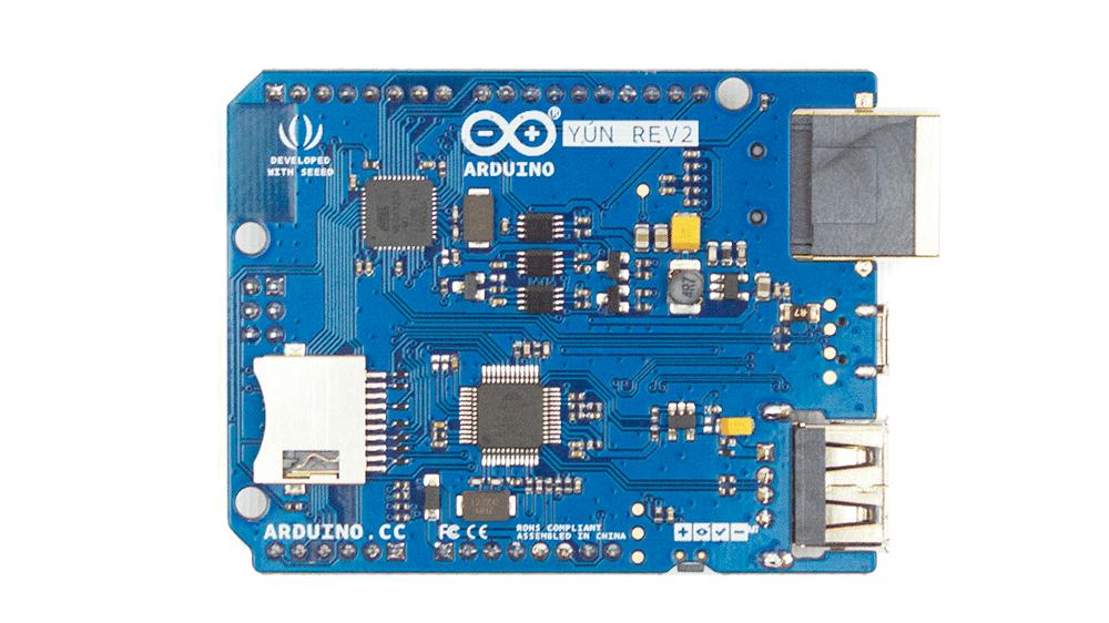 Rückseite des Arduino Yùn Rev 2