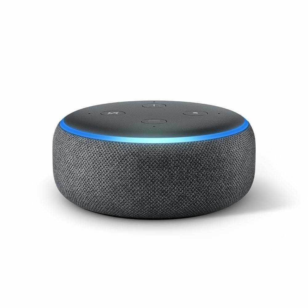 Die dritte Generation des Echo Dot sieht aus wie ein plattgedrückter Echo.