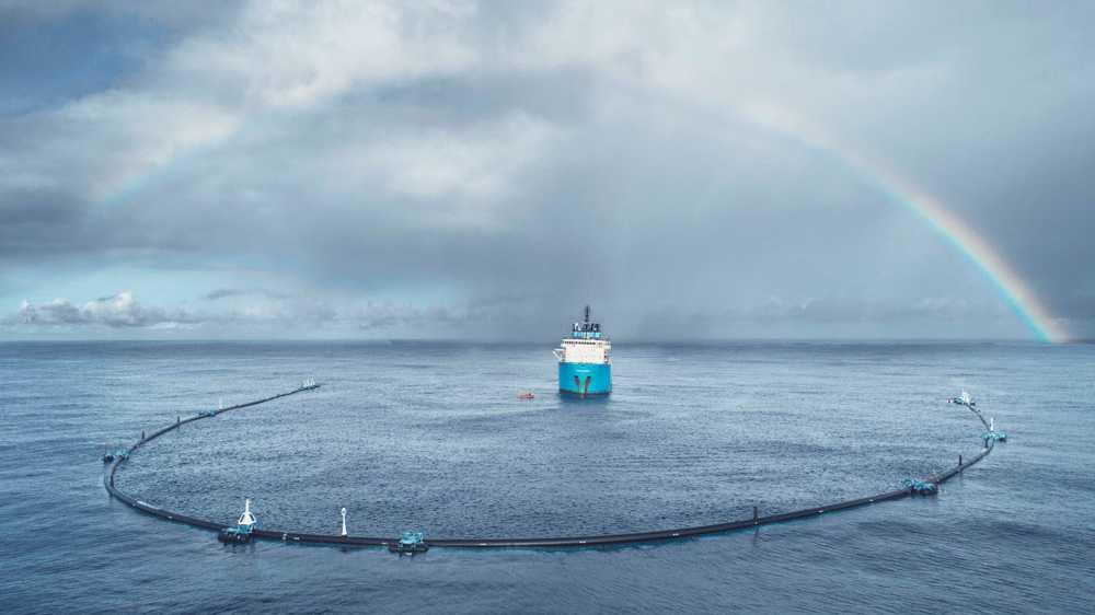 """Plastikmüll-Fänger """"The Ocean Cleanup"""" funktioniert noch nicht"""