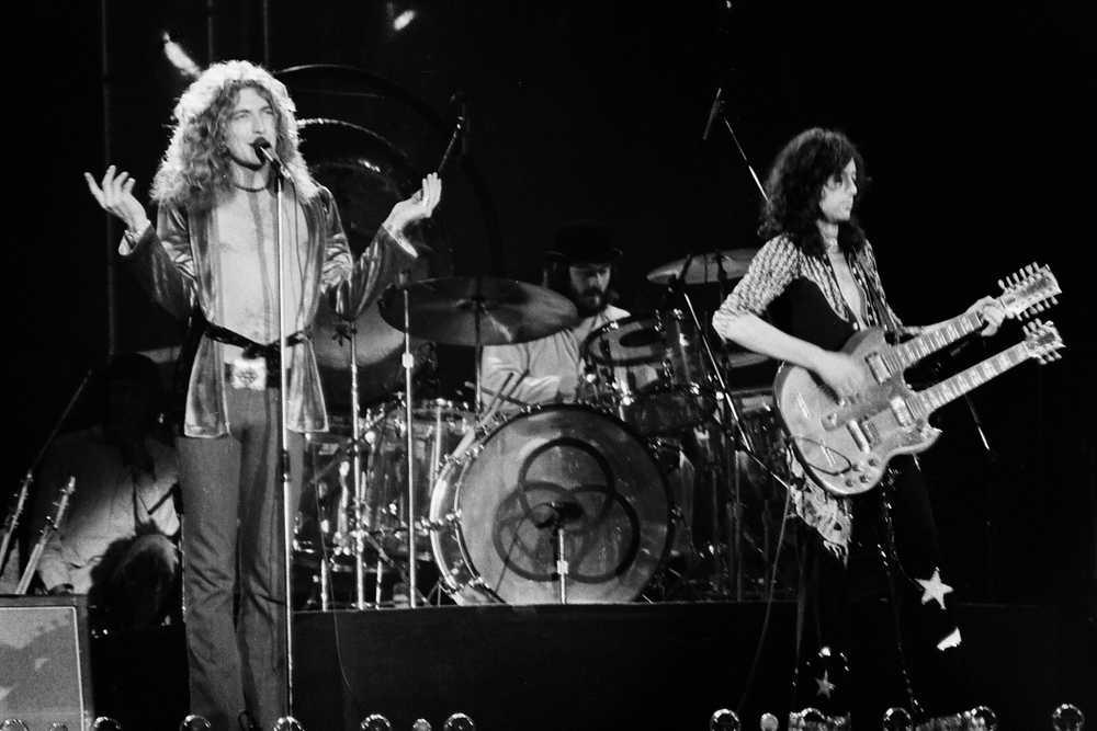 Jimmy Page, Robert Plant, John Bonham, Led Zeppelin
