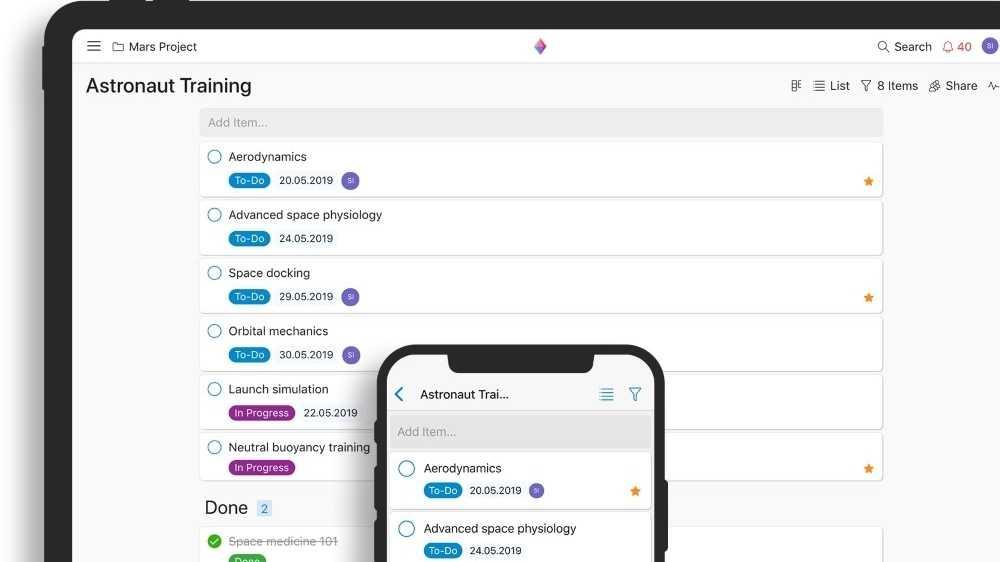 Projektmanagement-Tool: Zenkit veröffentlicht Progressive Web App