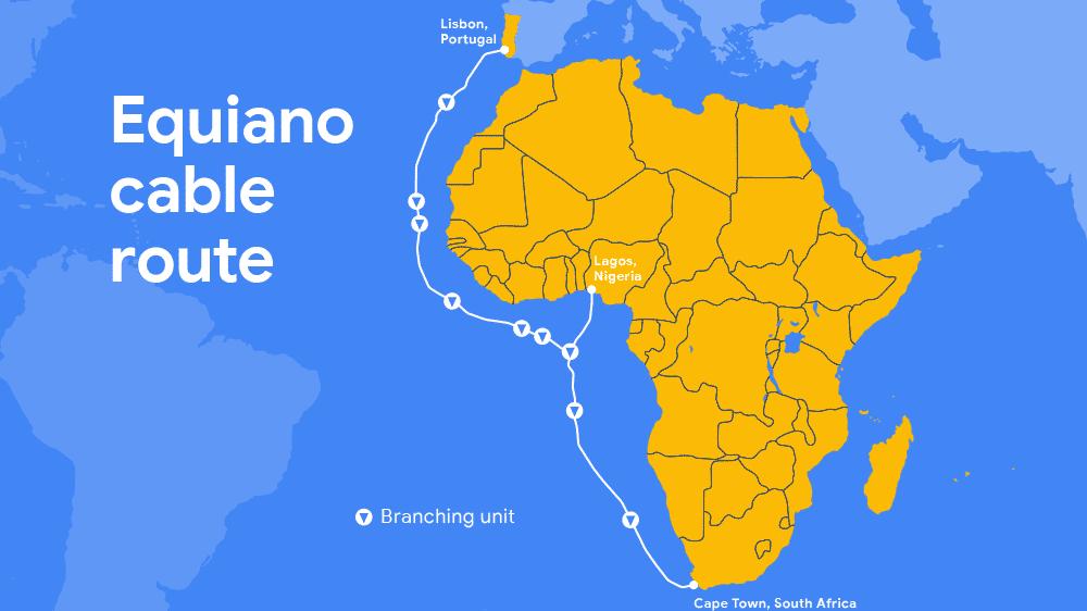 Google baut Seekabel zwischen Europa und Afrika