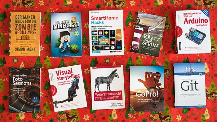 Adventaktion: E-Books von dpunkt und O'Reilly verschenken