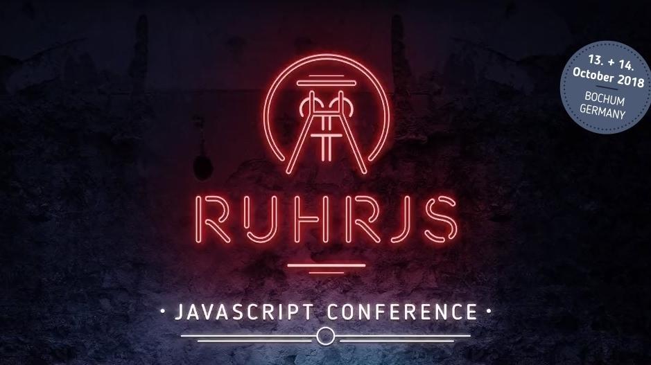 JavaScript: Die Community-Konferenz RuhrJS freut sich auf Einreichungen