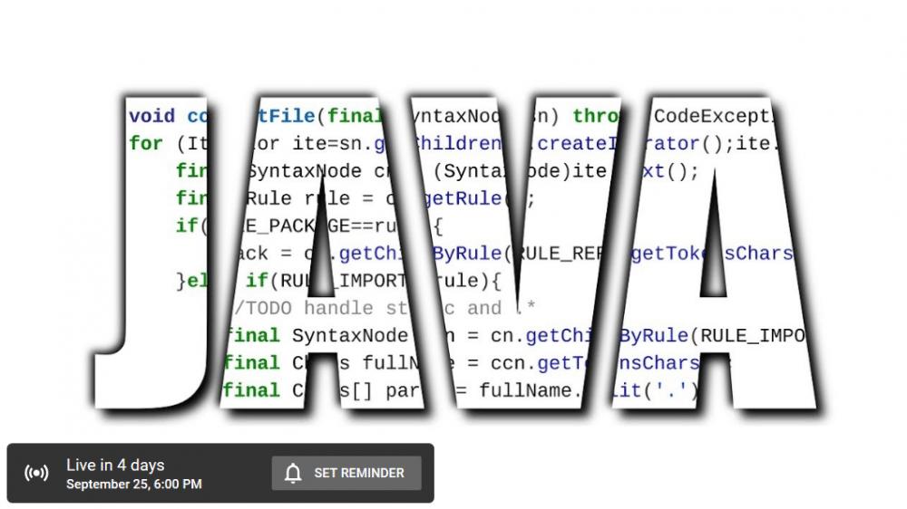 Jetzt vormerken: Launch-Event zu Java 11