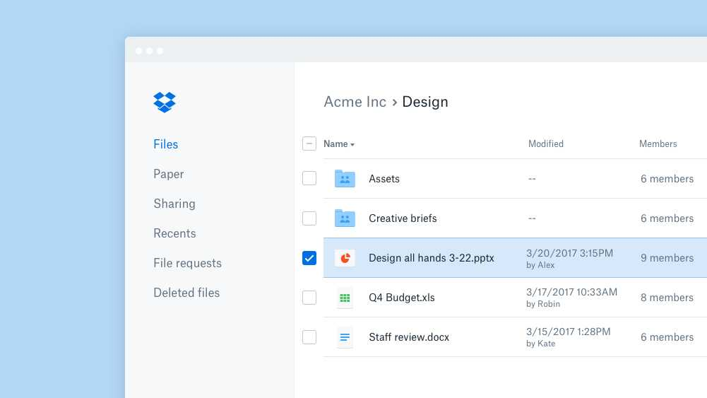 Dropbox: Android-App mit Notizen-Scanner, Paper-App mit Offline-Funktion