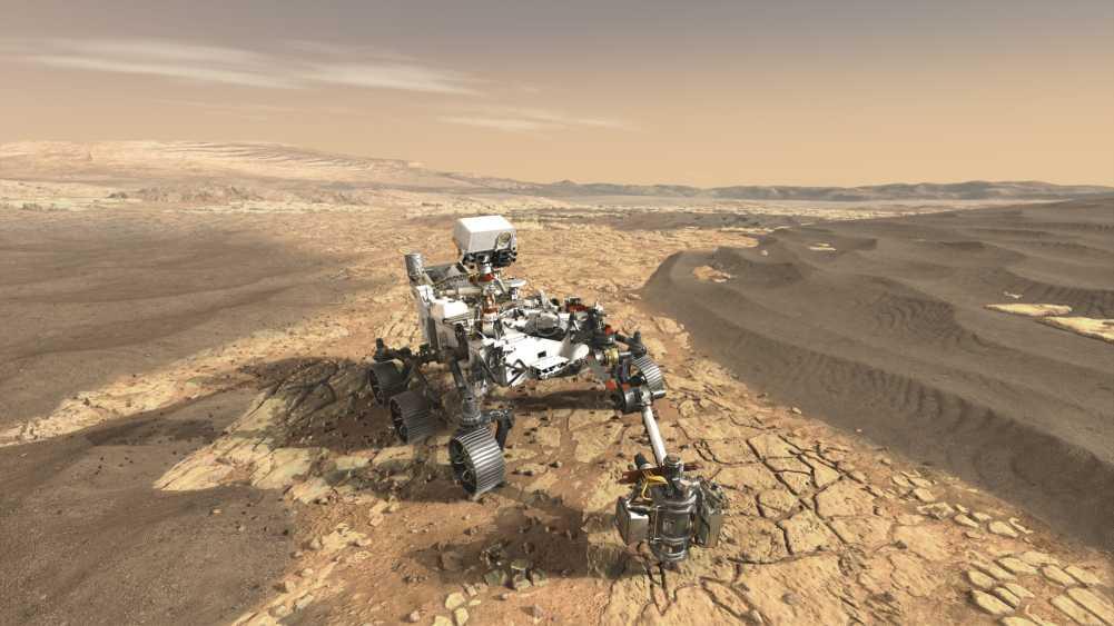 So soll Mars 2020 aussehen.