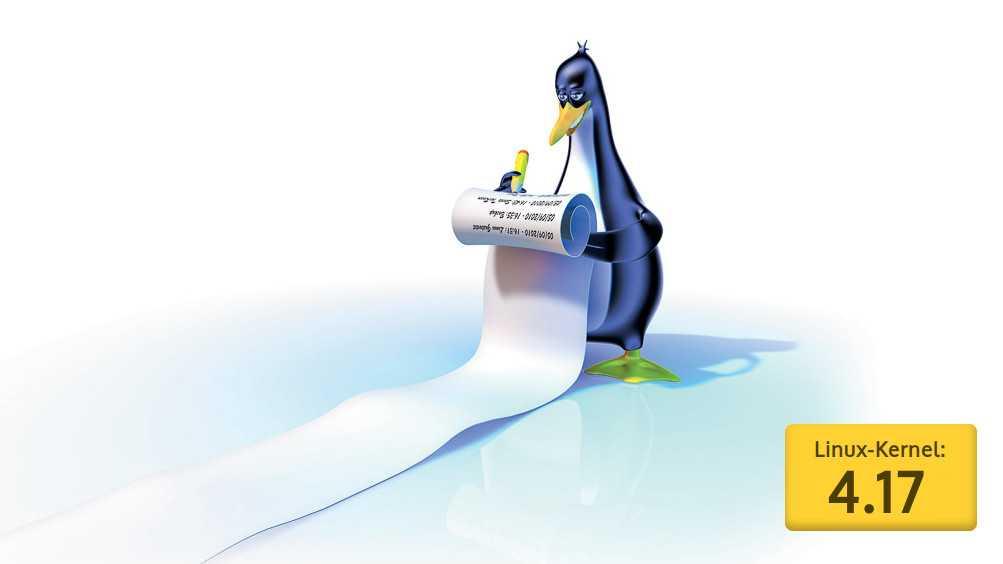 Ausblick auf Linux 4.17: Verbesserte Grafiktreiber und Großreinemachen beim Architektur-Code