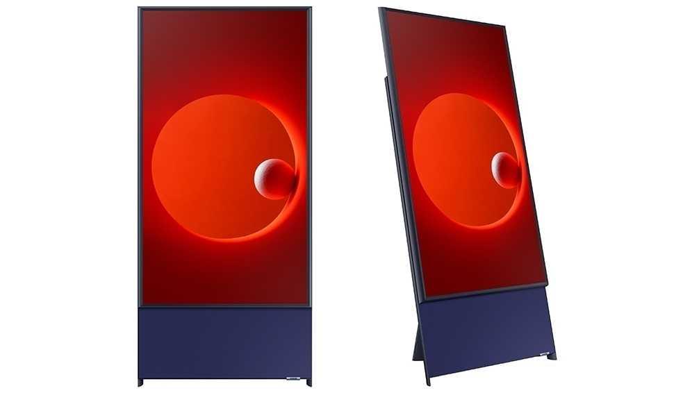 Vertikal statt quer: Samsung zeigt hochformatiges TV
