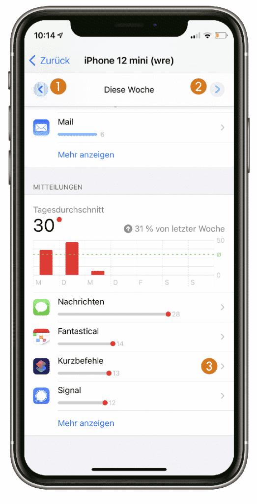Tipp: Mitteilungen für iPhone-Kurzbefehle ausschalten