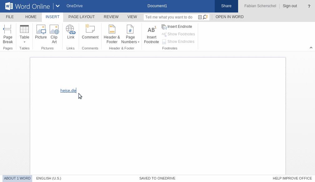 OneDrive-Link