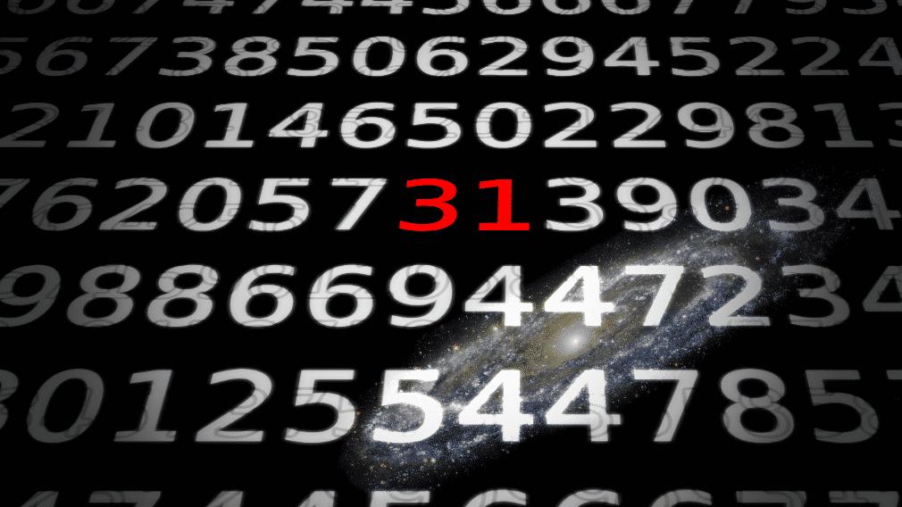 Zahlen, bitte! M31 -