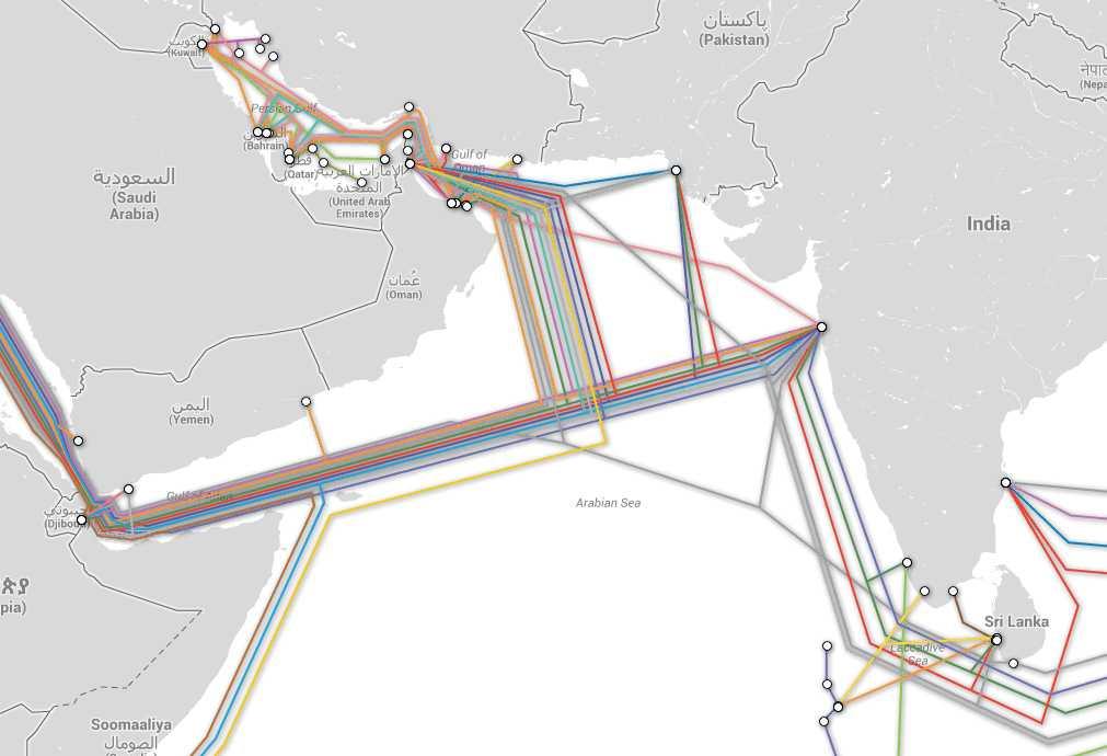 Der Oman liegt günstig für das britische Überwachungsprogramm.