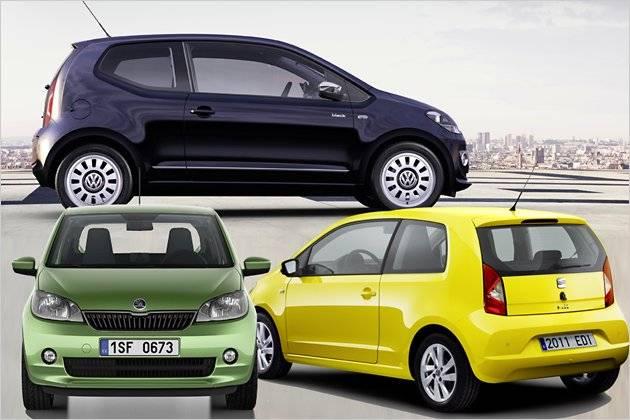 Das Unterscheidet Vw Up Skoda Citigo Und Seat Mii Heise Autos